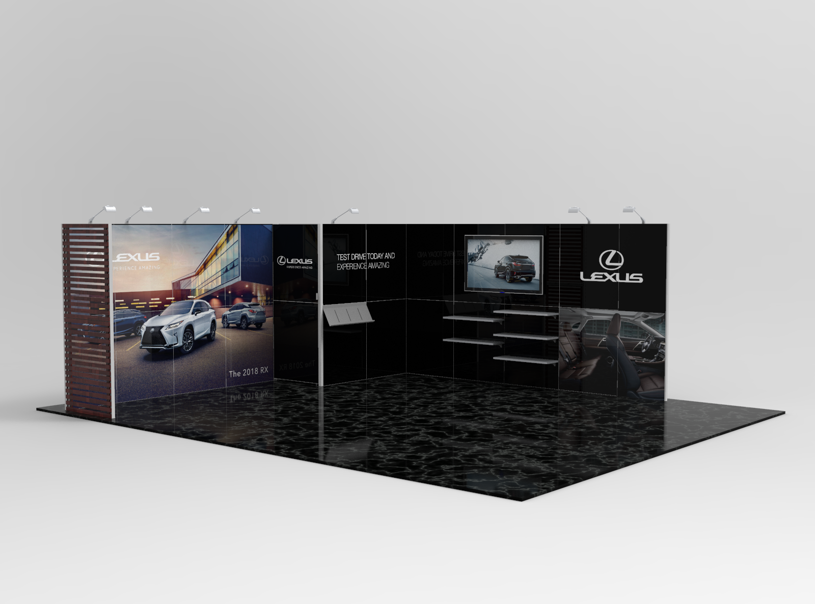 Small Modular Exhibition Stands : Magic modular exhibition stands and displays